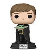 Pop! Star Wars Mandalorian Luke With Child Vinyl Figure