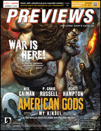 Previews Cover-January 18 Front