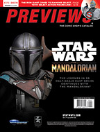 December PREVIEWS Cover Back