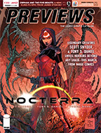 January PREVIEWS Front