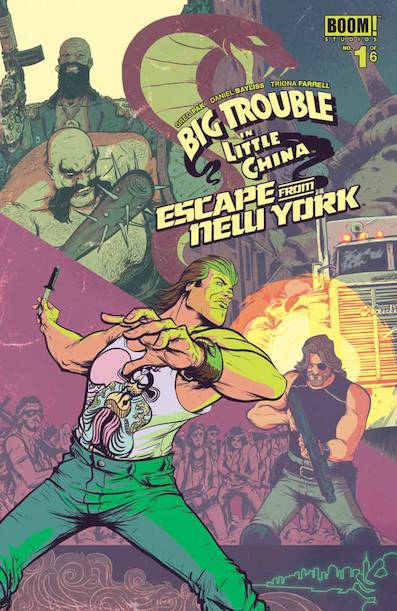 BOOM! Studios' Big Trouble In Little China/Escape from New York