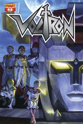 Voltron #1 Ross Cover A