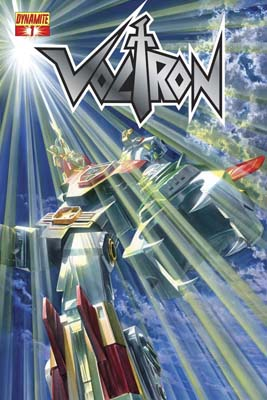 Voltron #1 Ross Cover B