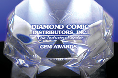 Diamond Comic Distributors, Diamond Gem Awards