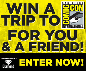 Diamond Comic Distributors, San Diego Comic-Con, Comic-Con International