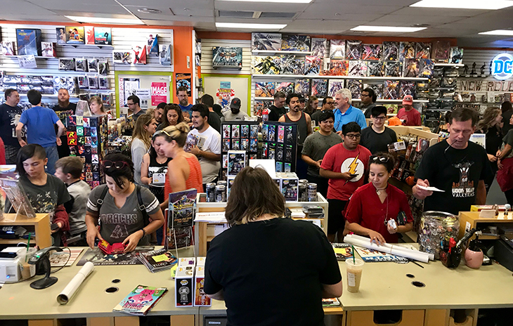 Free Comic Book Day, FCBD, Samurai Comics,