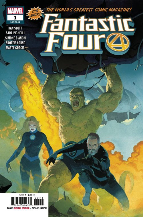 Marvel Comics -- Fantastic Four #1