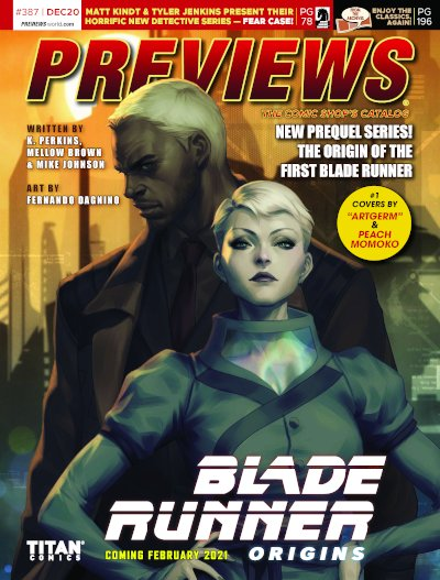 Titan Comics -- Blade Runner Origins