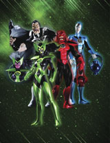 Blackest Night Action Figures