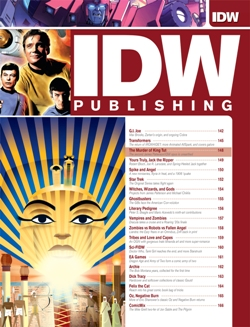 IDW's April Cover Page